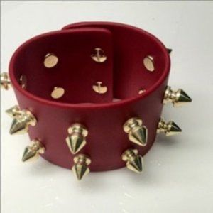 Diana Broussard Ian Bracelet In Red And Gold